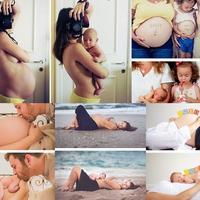ZACHWYCAJĄCE fotografie, ukazujące piękno ciąży i narodzin