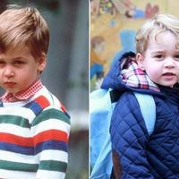 Książę Jerzy poszedł do szkoły! Odprowadził go dumny ojciec, książę William.