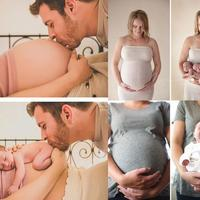 Emocjonalna petarda - ujmujące zdjęcia, które pokazują niesamowitą magię ciąży oraz narodzin