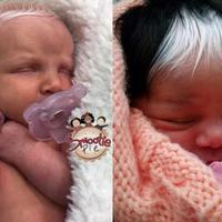Ale czuprynki! Te maluchy urodziły się ze śnieżnobiałymi włosami. Jak to możliwe?