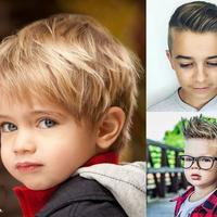 Modne fryzury dla małych i większych chłopców - trendy 2019