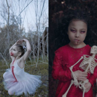 Te fotografie Cię PRZERAŻĄ! ZOMBIE KIDS, czyli zdjęcia dzieci w konwencji Halloween