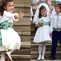 Córeczka Robbiego Williamsa debiutuje przed kamerami na ślubie księżniczki Eugenii. Mała Theodora wkracza w wielki świat!