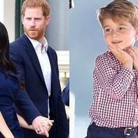 Dziecko Harry'ego i Meghan raczej nie zostanie królem, ale i tak książę George może mu zazdrościć. Czego?