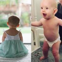 Ta dziewczynka ma pół roku i już chodzi! Rodzice chcą, by znalazła się w Księdze Rekordów Guinnessa