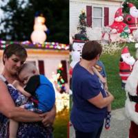 Dla umierającego dziecka rodzina zorganizowała święta Bożego Narodzenia we wrześniu... Jednak nie wszystkim się to spodobało