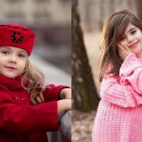Te dzieci są piękne jak z obrazka. Rosyjskie małe modelki podbijają Instagram
