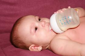 Kiedy malec nie chce mleka