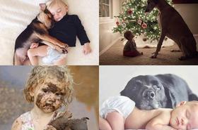To prawdziwa przyjaźń! Wzruszające zdjęcia dzieci i czworonogów