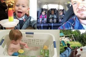 Oto najbardziej kreatywni rodzice! Zobacz, jak ułatwiają sobie życie z małymi dziećmi