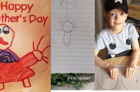 Dziecięce rysunki, które wyglądają na +18, ale to tylko Wasza wyobraźnia. Ups, to nie tak miało wyglądać...