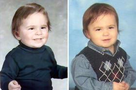TO NIESAMOWITE! Te zdjęcia udowadniają, że geny działają cuda. Zobaczcie zdjęcia dzieci i ich rodziców sprzed lat!