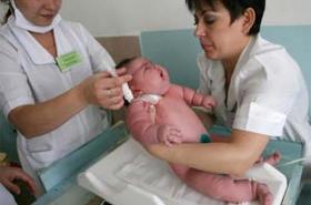 """Otyła kobieta urodziła dziecko ważące... 18 kilogramów. Zobacz, jak wygląda """"maleństwo""""."""