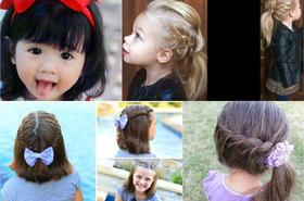 Urocze fryzury dla dziewczynek - takim upięciom nie oprze się żadna mała księżniczka!