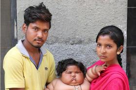 Oto najcięższe niemowlę na świecie! Waży prawie... 18 kilogramów!