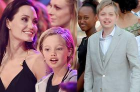 Córka Jolie i Pitta stanie się chłopcem? Aktorzy decydują się na kurację hormonalną córki...