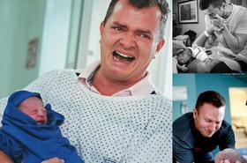 Ojcowie, którzy po raz pierwszy zobaczyli swoje dzieci. Przepiękna, pełna emocji galeria