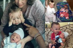 Te zdjęcia zrozumie każdy, kto ma rodzeństwo... Ujęcia, które podbiły sieć!