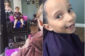 Fryzjerka obcięła włosy córce i... wywołała burzę w sieci. Internauci: Coś Ty zrobiła? Oszpeciłaś dziecko!