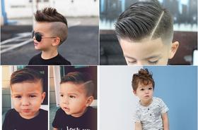 Modne cięcia dla małych przystojniaków - inspiracje dla swojego synka!
