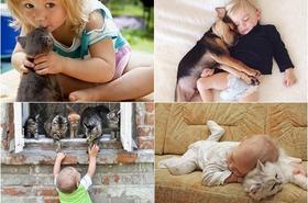 Dzieci i ich czworonożni przyjaciele - PRZEPIĘKNE ZDJĘCIA! Ich przyjaźń i zaufanie poruszają