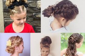 Najpiękniejsze fryzurki dla dziewczynek! Twoja córka z pewnością będzie wyglądała w nich uroczo