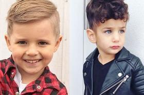 Fryzury dla chłopców - modne pomysły na ekstra cięcia