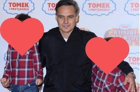 """Jan Wieczorkowski z synami. """"Ci dwaj goście to mój sukces"""". Wiedzieliście, że ma już tak duże dzieci?"""