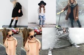 Te dziewczynki ubrane są lepiej niż niejedna kobieta. Garść inspiracji modowych dla Twojej pociechy