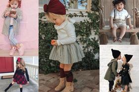 Najbardziej stylowe dzieci z Instagrama - można się w nich zakochać!