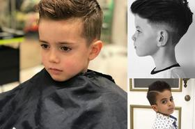 Nowoczesne fryzury dla małych chłopców – galeria pełna najlepszych pomysłów