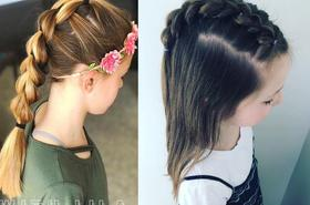 Śliczne fryzurki dla dziewczynek - idealne na święta i nie tylko