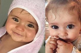 Uroda tych dzieci hipnotyzuje! Oto najpiękniejsze maluchy z całego świata