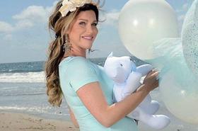 Tak wyglądał luksusowy baby shower Kingi Korty w Kalifornii. Zdradziła, jak nazwie synka!