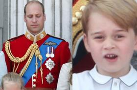 To zdjęcie robi furorę w sieci. Co robi książę George? Mina Williama mówi wszystko