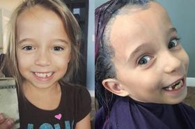 Pofarbowała 6-letniej córce włosy na zielono i wygoliła bok. W sieci zawrzało!