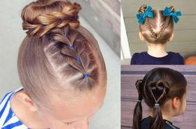 Najpiękniejsze fryzury dla dziewczynek znalezione w sieci