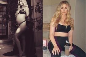 Khloe Kardashian po narodzinach córki straciła już 15 kilo. JAK? Mówi, że wcale się NIE WYSILAŁA...