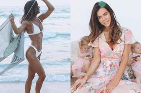 Wysportowana mama czwórki dzieci imponuje ciałem. Wróciła do treningu dwa dni po porodzie