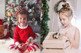 Inspiracje stylizacji dzieci na święta Bożego Narodzenia - galeria zdjęć