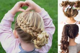 19 pomysłów na urocze fryzurki dla dziewczynek
