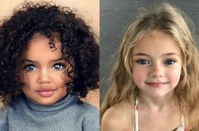 Uroda tych dzieci wbija w ziemię - TE OCZY hipnotyzują!
