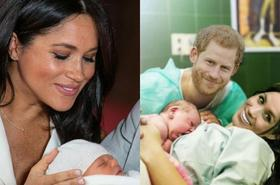 Tego jeszcze nie było: zdjęcie Harry'ego z Meghan z porodówki! Internet OSZALAŁ na punkcie tego zdjęcia