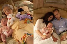 Windsorowie w pieluchach? Fotografka pokazuje intymny świat brytyjskiej rodziny królewskiej