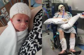 Ta 24-letnia mama doznała udaru w 29. tygodniu ciąży. Mało brakowało, a straciłaby i córkę, i życie