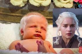 """Ta dziewczynka ma lśniące białe włosy jak Emilia Clarke z """"Gry o tron"""", a jej mama musi się tłumaczyć, że nie edytuje zdjęć w Photoshopie!"""
