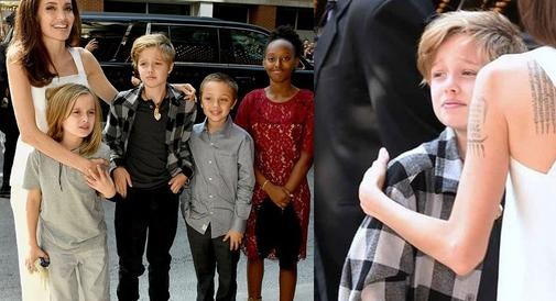 Córka Angeliny i Brada na festiwalu w Toronto. Shiloh coraz bardziej przypomina chłopca...