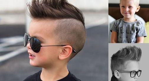Modne fryzury z irokezem dla małych chłopców - super pomysły!