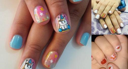 Przegląd pomysłów na manicure dla dziewczynek. Niektóre są mega śliczne!