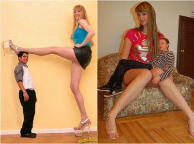 Myślisz, że jesteś wysoka? To popatrz na nie! Oto najwyższe dziewczyny na świecie